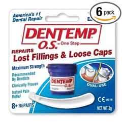 Temporary tooth filling & crown repair (1/3)