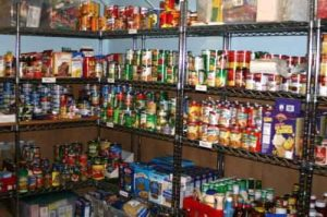Internet- food, a well stocked pantry