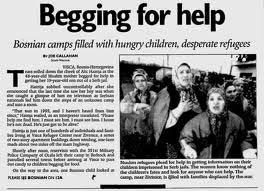 famine Bosnia