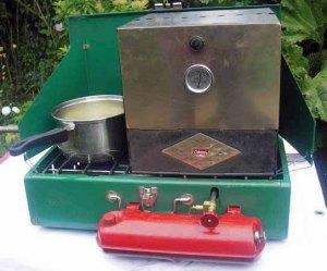 no elect coleman stove