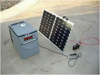 Wynter 12v refrig w solar panel