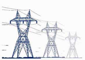 Carrington power lines