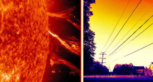 emp solar flare