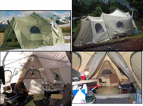 tent big horn 12x14 & Emergency Tent Living Part 2 of 4 | 4dtraveler