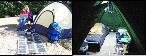tent solar panels