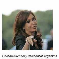 propoganda C Kirchner POA