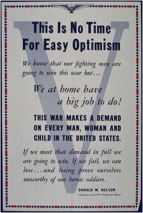 propoganda optimism