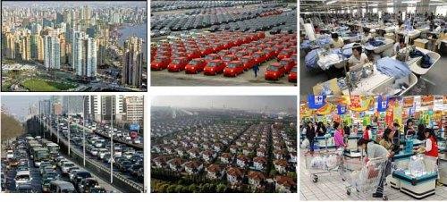china urban landscape