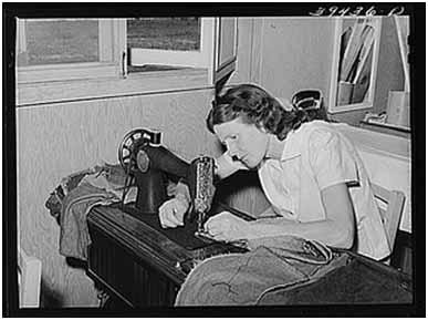 skill seamstress