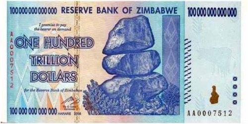 tick zimbabwe note