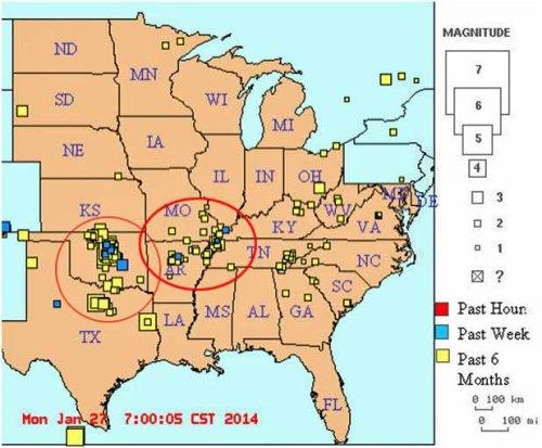 fault central US