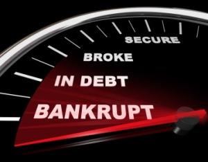 bankruptsy gauge