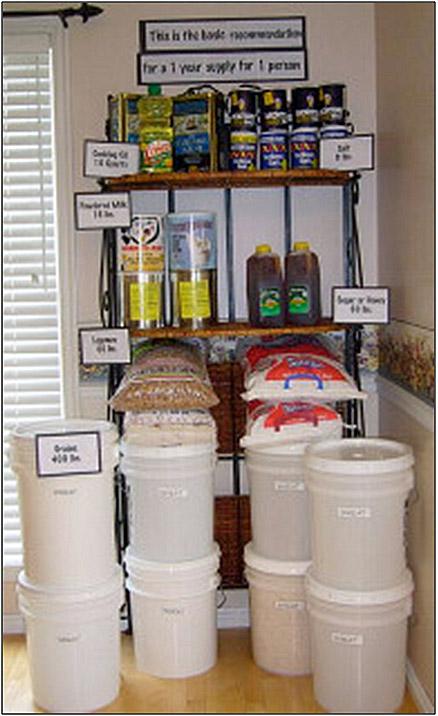 BasicFood 1 yr-1 perspn & Basic food storage   4dtraveler