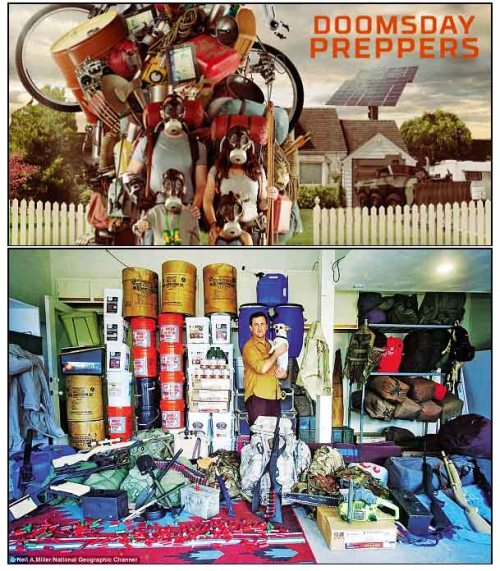 prepper crazy vs normal