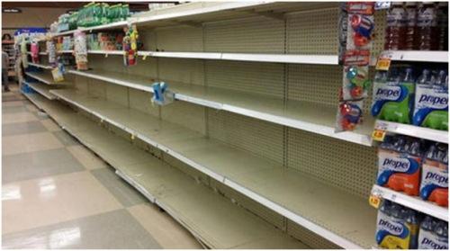 ebola shelves